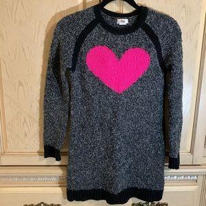 Circo Girls Heart Sweater Dress
